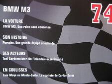 FASCICULE 74 RALLYE MONTE CARLO BMW M3 / PORSCHE / TONI GARDEMEISTER