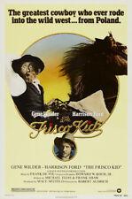The Frisco Kid Gene Wilder vintage movie poster #2