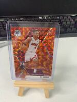 2019-20 Panini Mosaic #210 KZ Okpala RC Orange Reactive Prizm HEAT