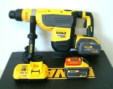 DeWALT DCH733X2 54v XR FLEXVOLT SDS Max Rotary Hammer Drill 2 x 9Ah Batteries