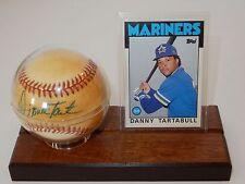 Rawlings American League Official Baseball Signed by Danny Tartabull w/Card