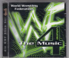 WORLD WRESTLING FEDERATION - THE MUSIC VOLUME 4 - CHRIS JERICHO/ THE ROCK...CD