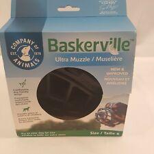 Baskerville Ultra Muzzle Size 6 Black For Dog Training