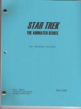 Star Trek Script - Animated - Terratin Incident - First Draft