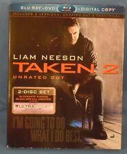 BLU-RAY! - TAKEN 2 with Liam Neeson