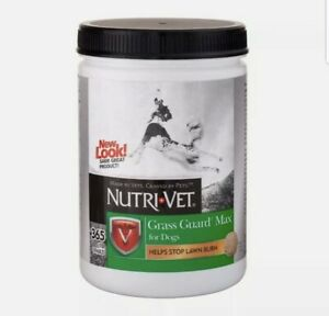 Nutri-Vet Grass Guard Max For Dogs Probiotics + Digestive Enzymes 365 Chewables
