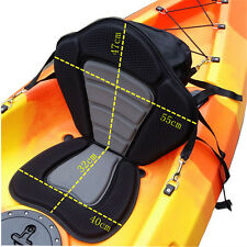Adjustable Fashion Deluxe Padded Kayak Seat Pad Backrest