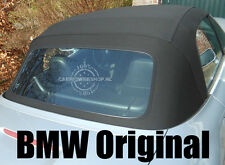 BMW Z3 100% ORIGINAL plastic rear window with zipper (Z3 top cabrio) OEM