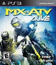 PLAYSTATION 3 PS3 MOTOCROSS RACING GAME MX VS ATV ALIVE BRAND NEW & SEALED