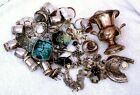 438 Grams Assorted  Material Sterling Silver Scrap As Pictured S4