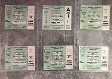 More details for original unused 1966 world cup tickets to all group 1 games. england france etc