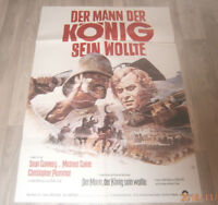 A1 Filmplakat  DER MANN DER KONIG SEIN WOLLTE, SEAN CONERY,MICHAEL CAINE