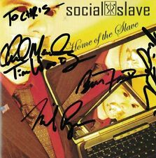 Home of the Slave Social Slave Music CD 2007 Signed Autographed All Band Members