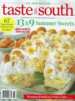 Taste of the South     May / June    2020  13x9 Summer treats