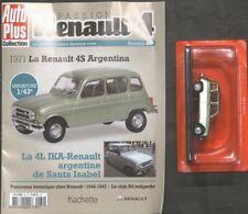 RENAULT 4L N°60 LA RENAULT 4S ARGENTINA 1971