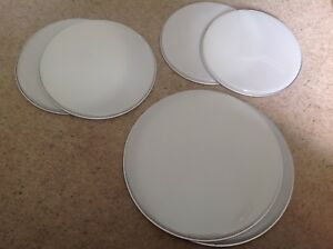 """Replacement 6 Piece Set Of 12"""" 13"""" And 16"""" Drum Skins"""