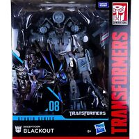 Transformers Generations Studio Series Movie BLACKOUT 08 Figure Leader Class