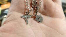 WWII US Army Medical Charm Bracelet Sweetheart Home Front Sterling