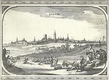 Antique map, Loeven