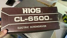 NEW! HIOS CL-6500 Electrical Screwdriver Electric Torque Screwdriver