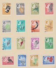 SWAZILAND 92-107 1962 Queen Eliz set complete used
