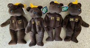 Salvino Bamm Beano's Bears 1998 Home Run Kings Babe Ruth, Maris, Sosa Mcgwire