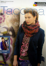 Schachenmayr  Ladies cowl & scarf knitting pattern for Tacoma wool S8607