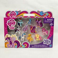 🔥My Little Pony Friendship Is Magic Cutie Mark Mini Figures Collection - Set...