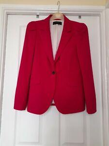 Zara Ladies Jacket Size L Cherise pink  colour