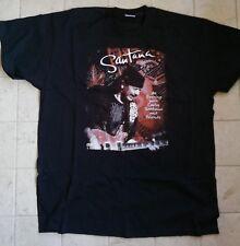 T-shirt merchandising Santana Live tour 2010 Fruit of the Loom Tg. XL