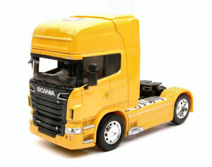 Scania R730 V8 (4x2) 2015 Jaune Camion 1:3 2 Model Welly