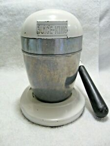 Vintage Collectible JUICE-KING Juicer By National Die Casting Co.Of Chicago, IL