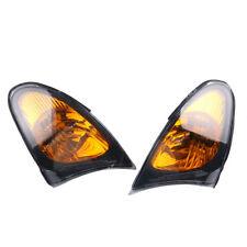 Yellow Front Corner Light Set No Bulb For BMW E46 Sedan Wagon  325i 330i 02-05