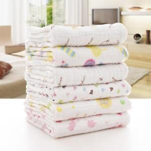 Newborn Kids Gauze Cotton Swaddle Blanket Baby Sleeping Swaddle Wrap Bedding