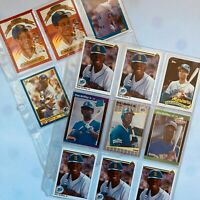 Ken Griffey Jr. Lot of 13 Baseball Cards in Excellent Condition