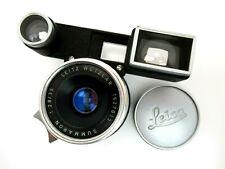 Leitz Leica Summaron with googles 35 mm f2,8 No 1627013 M mount jr041
