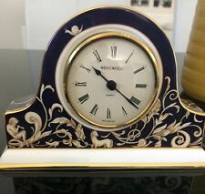 WEDGWOOD MANTEL CLOCK - CORNUCOPIA - BICENTENARY CELEBRATION - RARE & BOXED!