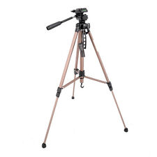 Professional Travel Tripod Digital Camera Camcorder Video Tilt Pan Head carrybag