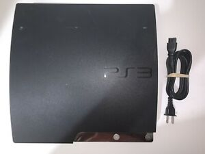 Sony PlayStation 3 PS3 Slim 120GB Black Console Only CECH-2001A TESTED #1