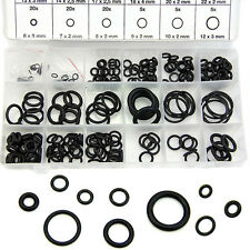 225Pcs Rubber Metric Nitrile O Ring Assortment Set For Hydraulic Pumps Plumbing
