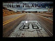 Route 66 Desert Highway Gas Station Santa Fe Albuquerque New Mexico US Postcard