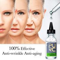 100% Vitamin C Hyaluronic Acid Serum for Face Skin Care Anti Wrinkle Aging 10mL