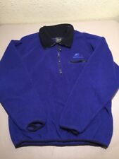 Helly Hansen Fleece Mens Pullover Jacket Pullover Royal Blue 1/2 ZIP Size Large