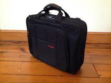 "Codi Black Shoulder Messenger Bag Laptop Case Carry-On Luggage Attache 16"""