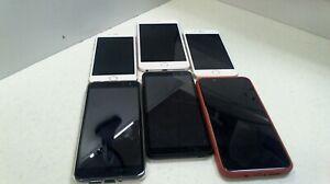 Joblot Of 6 Faulty  Various  smartphones Mobile Phones