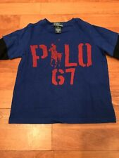 Ralph Lauren Boys Tshirt 3 Years Long Sleeved