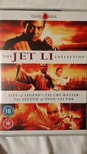 JET Li COLLECTION  tai chi master  fist of legend legend of fong sai yuk NEW
