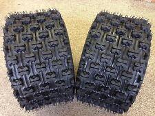 (Pair) 2 Quadboss Sport ATV Rear Tires 20X11X10 20X11-10 4 PLY QBT739