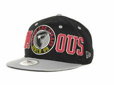 Famous New Era 9FIFTY Tip Off Stars & Straps Black Adjustable Snapback Cap Hat