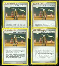 Pokemon LOOKER'S INVESTIGATION 109/127 Platinum - MINT 4X